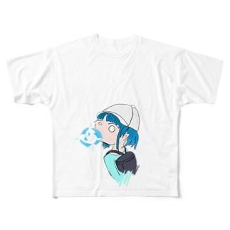 ラムネ味 Full graphic T-shirts