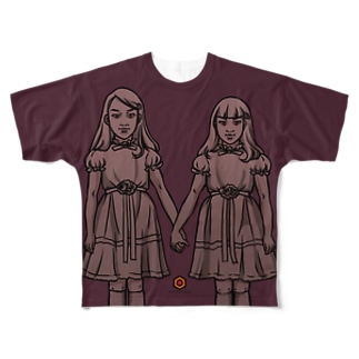 ghost sisters Full graphic T-shirts
