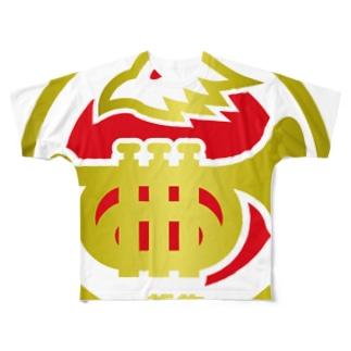パ紋No.2770 哲也 Full graphic T-shirts