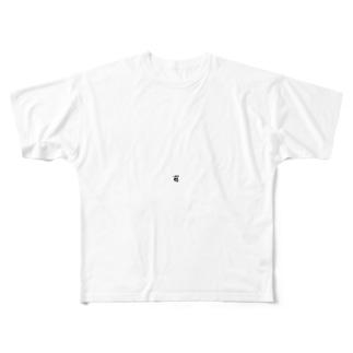 ターHELL穴トミヤ Full graphic T-shirts