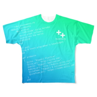 Code of ++ Full graphic T-shirts