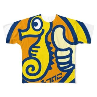 パ紋No.2776 たつのこ Full graphic T-shirts