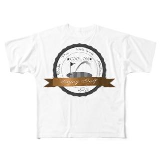 クールオン エンブレム Full graphic T-shirts