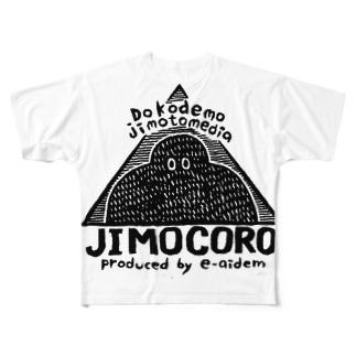 ジモコロのグッズ Full graphic T-shirts