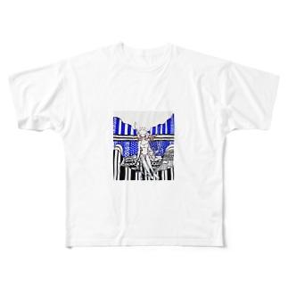 鳥人の夢 Full graphic T-shirts