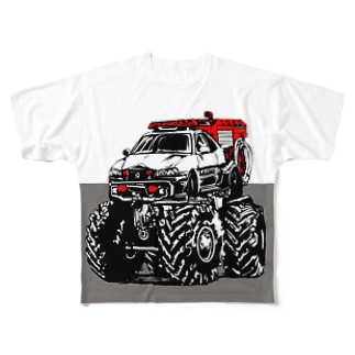 PAT MAX Full graphic T-shirts