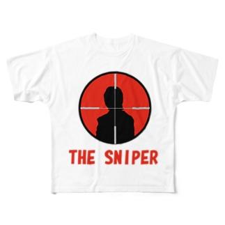 スナイパー2号 Full graphic T-shirts