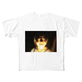 ほらー Full graphic T-shirts