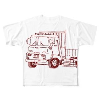 トラック Full graphic T-shirts