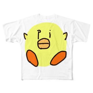 ピヨピヨちゃん Full graphic T-shirts