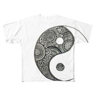 まがたま Full graphic T-shirts