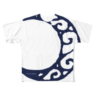 tommy_moon Full graphic T-shirts