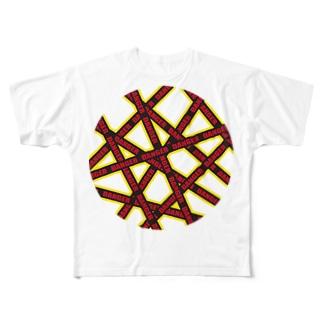 DANGER Full graphic T-shirts