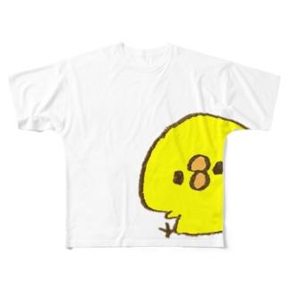 ぴよたそベーシック Full graphic T-shirts