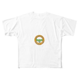 あけぼの大豆くん2 Full graphic T-shirts