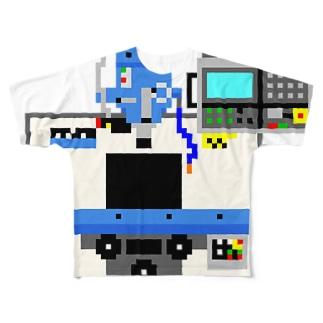 ふらいすばん(NC) Full graphic T-shirts