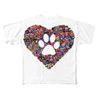 Sweet paw Full graphic T-shirts