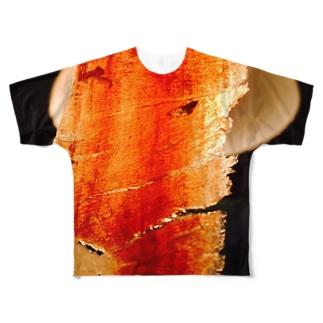 生ハム Full graphic T-shirts