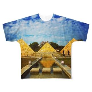 nihonno ezipto Full graphic T-shirts