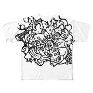 STYLECORE s-3 Full graphic T-shirts