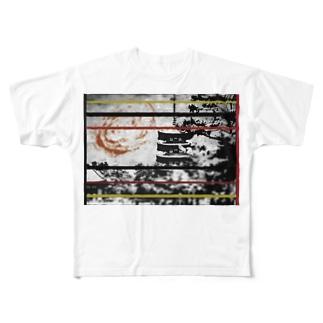 城 Full graphic T-shirts