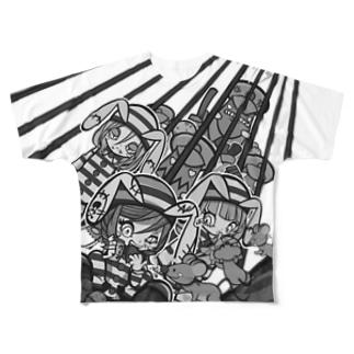 牢獄チョコレート Full graphic T-shirts