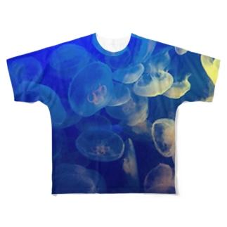 海月 Full graphic T-shirts