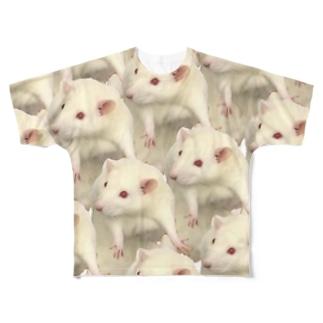 よこずな Full graphic T-shirts