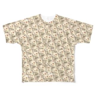 ちいさいよこずな Full graphic T-shirts