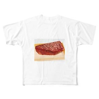 ラブ肉 Full graphic T-shirts