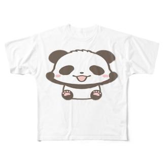 🐼のびパンダ Full Graphic T-Shirt