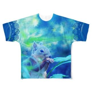 星に願いを☆ Full graphic T-shirts