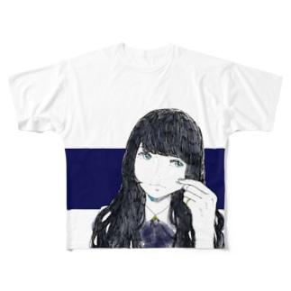 むぃー。 Full graphic T-shirts