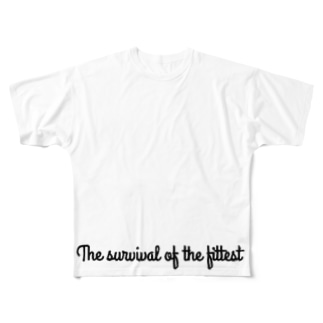 適者生存 Full graphic T-shirts