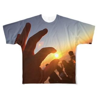 御来光 Full graphic T-shirts