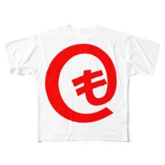 モットマーク Full graphic T-shirts