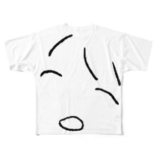 ゆめゆめsuzuri屋さんのGUTTARI Full graphic T-shirts