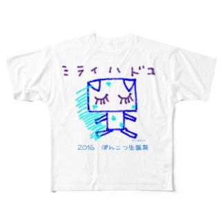 2016年生誕祭グッズ Full graphic T-shirts