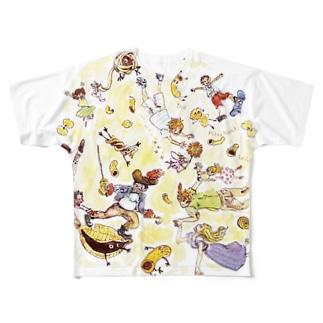 マカロニ戦争 Full graphic T-shirts