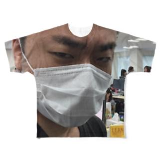 厳格な合田さん Full graphic T-shirts