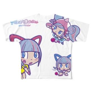 オシリたゃん Full graphic T-shirts