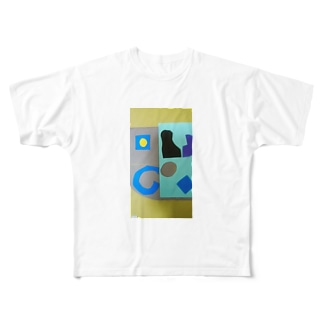 きれいな衣服をきたいひとに Full graphic T-shirts