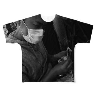 かぞえる合田 Full graphic T-shirts