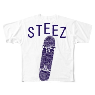 STEEZ Full graphic T-shirts