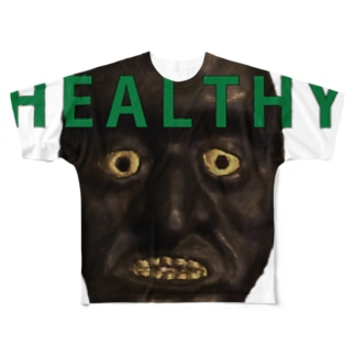 healthy Love(Face) Full graphic T-shirts