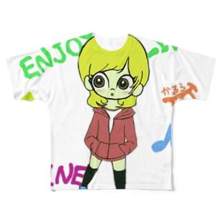 僕。 Full graphic T-shirts