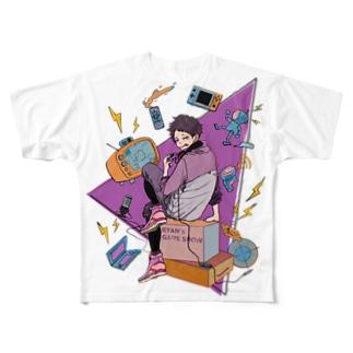 ライアンGaming show Tシャツ Full graphic T-shirts