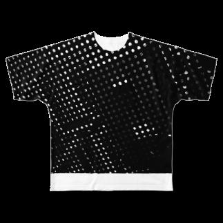 大島翔吾のドット Full graphic T-shirts