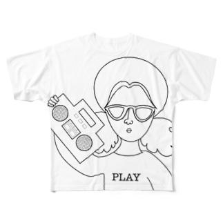 ミスターPlay Full graphic T-shirts