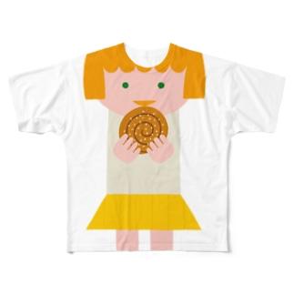 マチルダ(シナモンロール) Full graphic T-shirts